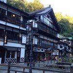 銀山温泉に日帰り観光、駐車場、足湯に公衆浴場も