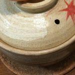 土鍋のひび割れの原因は?水漏れは片栗粉で修理完了!